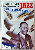 Cassette Wes Montgomery Walkman Jazz Remaster TESTED Bumpin' on Sunset Tequila