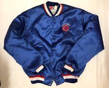 Swingster Chicago Cubs MLB Vintage Satin Jacket Men Large Made In USA