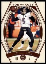 2021 Legacy For the Ages Base #9 Joe Flacco - Baltimore Ravens