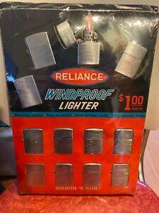Cigarette cigar lighter vintage display Reliance not zippo