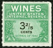 #RE183 3 2/5c Wines, Mint NGAI NH [5] **ANY 4=FREE SHIPPING**