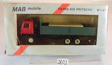 MAB Mobile 1/87 Tatra 815 Truck Flatbed without label OVP #2802