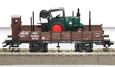 Märklin H0 Niederbordwagen der ÖBB aus Set 48800 mit Traktor Neu Ohne OVP