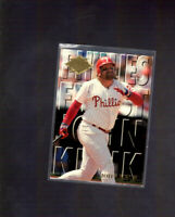 1994 Fleer Ultra Philadelphia Phillies Finest #8 John Kruk Insert Card