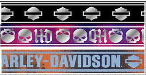 Harley-Davidson Small Multi-Color Reflective Adjustable Dog Collar H6442 H LB112