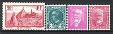 FRANCE ANNEE COMPLETE 1933 YVERT 290 / 293 , 4 TIMBRES NEUFS xx LUXE  M777N