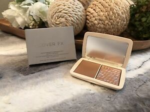 COVER FX Monochromatic Blush Duo Matte + Shimmer - Sunkissed Bronze  New