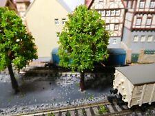 20 maigrüne Laubbäume, 75 mm hoch
