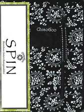 """ChiaoGoo ::SPIN 4"""" Bamboo Interchangeables:: Small: US 2 (2.75 mm) - US 8 (5 mm)"""