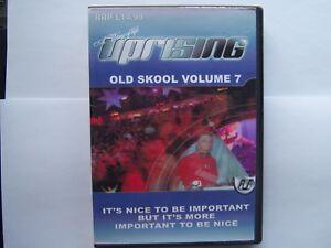 UPRISING OLDSKOOL 4 PACK CDs - VOL 7 FREEPOST