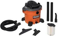 RIDGID Wet Dry Vacuum 12 Gal. 5.0-Peak HP Floor Cleaner Home Car Shop Appliance