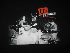 "U2 ""GO HOME"" Live from SLANE CASTLE - IRELAND Tour (XL) T-Shirt BONO EDGE"