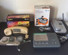 Vintage Phone And Parts Lot Answering Machine