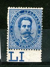 Regno - umberto 1879 25 cent BDF