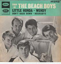 "7"" EP 45 TOURS UK THE BEACH BOYS ""Little Honda / Wendy / Hushabye +1"" 1964"