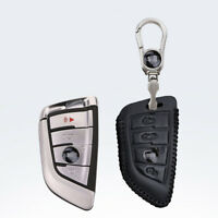 For BMW X1 X5 X3 X6 Car key case holder cover remote fob Black Color 3 buttons