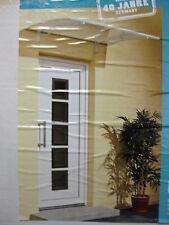 DUSAR Dach Haustür Pultvordach Vordach 140x90 cm NUR ABHOLUNG Art.-Nr. 51203-024