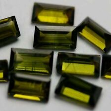 verde oscuro baguette 5x3mm 1 turmalina vs