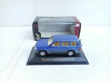 1/43 ROAD TOUGHT TOYOTA LAND CRUISER VXR  IN BLUE GREY BUMPS NEW IN OVP RARE