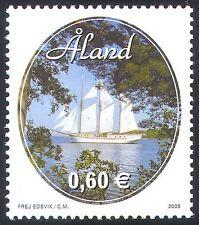 """Aland 2005 """"Linden""""/Schooner/Sailing Ships/Boats/Nautical/Transport 1v (n41538)"""