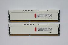8GB Kingston HyperX FURY DDR3 Memory 1866MHz CL10 PC3-14900 HX318C10FWK2/8
