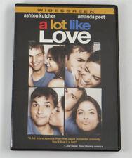 A LOT LIKE LOVE (Ashton Kutcher & Amanda Peet) ~ DVD (PG Rated) ~ Nigel Cole