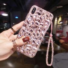 Luxury Diamond Fashion Hot Women Glitter Case Cover For Various Phone + Bracelet