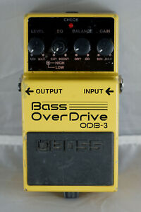 Boss ODB-3 Bass Over Drive Overdrive Pedal Taiwan