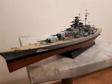 1:700 German WW2 Bismarck battle ship complete model