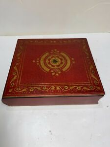 Wooden Box Photo Album Keeper Bombay Company *Mint In Box*  Provencial 1859975