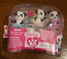 Barbie Panda Bear Ballerina Tutu with Accessories Set 2009 New Mattel