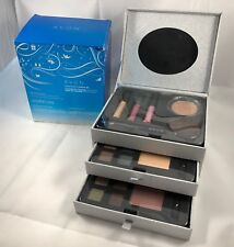 Avon Gilded Treasures Makeup Set Silver Jewelry Box with Mirror New In Box