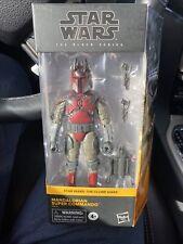 "Star Wars Black Series 6"" Mandalorian Super Commando Walmart NIB"