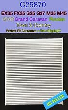 25870 CABIN AIR FILTER For GRAND CARAVAN / EX35 / GT-R / ROUTAN SUPER FAST SHIP