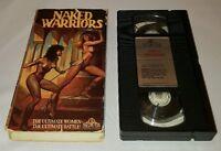 Naked Warriors VHS Pam Grier Margaret Markov