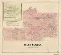 West Seneca New York - Stone 1866 - 23.00 x 25.56