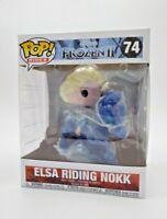 FUNKO POP! RIDES: FROZEN II - ELSA RIDING NOKK #74 *UK STOCK*