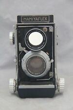Early Mamiyaflex C Professional TLR Medium Format Film Camera Sekor 2.8/80 Lens