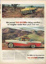 Original 1956 Mercury Phaeton Big M paper ad 10½ x 14 inch Tavern Trove