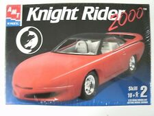 AMT Ertl Factory Sealed Knight Rider 2000 1:25 Scale Model Car Kit #31539
