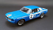 ACME 1/18 1968 DAN GURNEY MUSTANG SHELBY RACING CO. #2 BLUE DIECAST CAR 12987