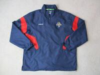 Reebok Florida Panthers Jacket Adult Extra Large Blue Red NHL Hockey Coat Mens