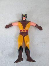 """Vintage 1989 Just Toys bendy bendable rubber Marvel Wolverine figure 6 """""""