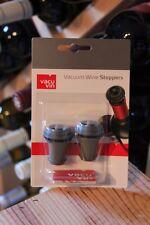 2 Vacuum Weinstopfen Vacu Vin