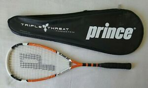 Prince Air Lightning Squash Racket Triple Threat Titanium Tungsten Carbon