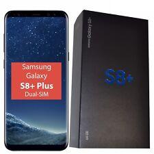 Bnib Samsung Galaxy S8+ Dual-Sim 64Gb Sm-G955Fz Black Factory Unlocked 4G Gsm