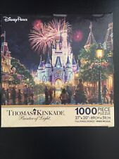 Disney Parks Thomas Kinkade Main Street USA Walt Disney...
