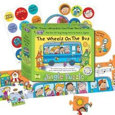 Music For Kids: Jingle Puzzle - The Wheels On The Bus Books About Music/Music fo