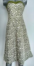 COAST bandeau formal dress stitch work size 8 --MINT-- Gala Races Party Wedding