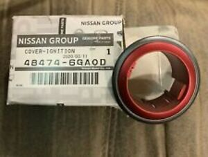 NISMO NISSAN Genuine Red Start Button Surround 2009-2019 Nissan 370Z 48474-6GA0D